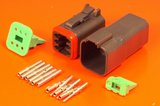 Assorted Electrical Deutsch Connectors DT Series