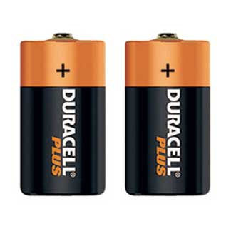 Duracell D  Pack of 2