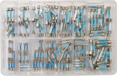 Assorted Glass Fuses - 200 Pieces