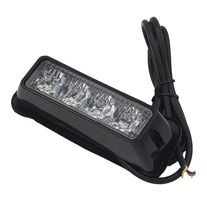 Hazard Warning LED Light Head 4x LED AMBER 12/24v