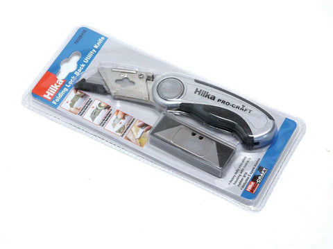 Folding Lock Knife with Replacement Blades