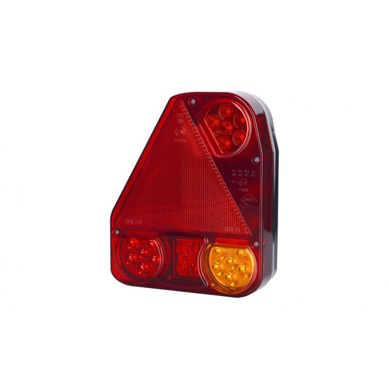 LED Tail Lamp with Reflector