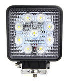 LED Work Light / Square /  27w
