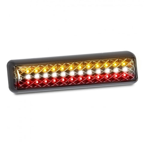Slim Line Combination Tail Lamp, Stop / Tail / Indicator / Reverse