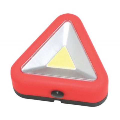 LED Hazard Warning Triangle with Flashing Mode