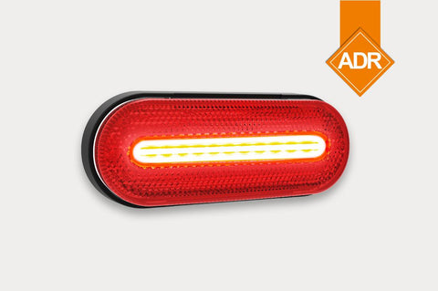 Rear Marker Light with LED Stripe