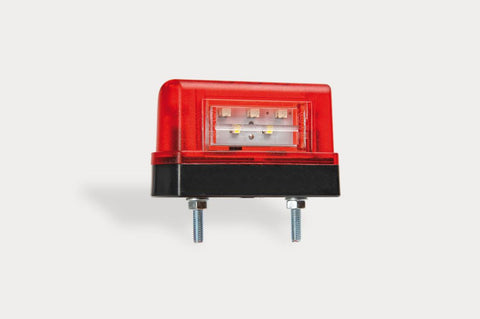 Slimline LED Number Plate Lamp with Rear Position Light