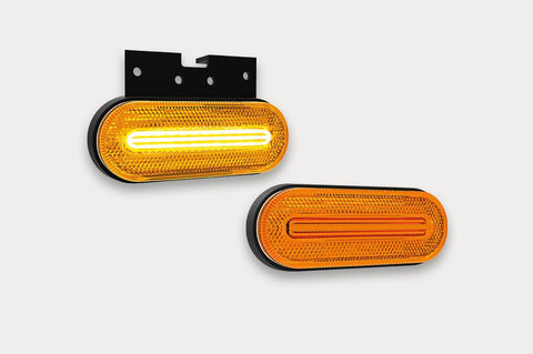 Side Marker Light with LED Stripe