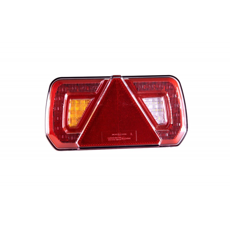 LED Trailer Lamp with Reflex Triangle