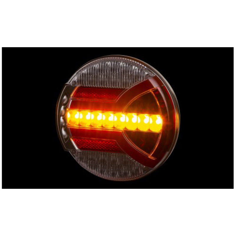 LED Trailer Lamp with Dynamic Indicator - 5 Functions