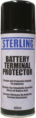 Battery Terminals Cleaner & Protector Aerosol/Spray (400ml)