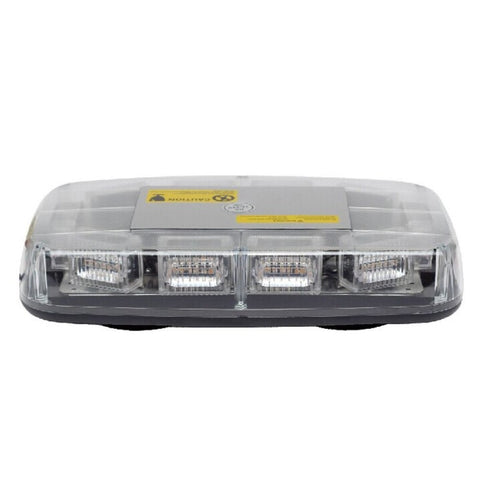 LED Mini Light bar Amber 12/24v Clear Lens