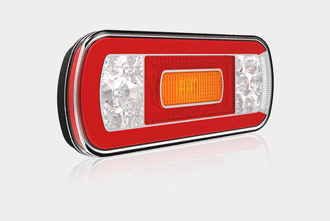 Rear LED Trailer Light / 5 Function Neon Effect