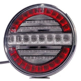 Round Tail lamp with Reverse & Fog Functions