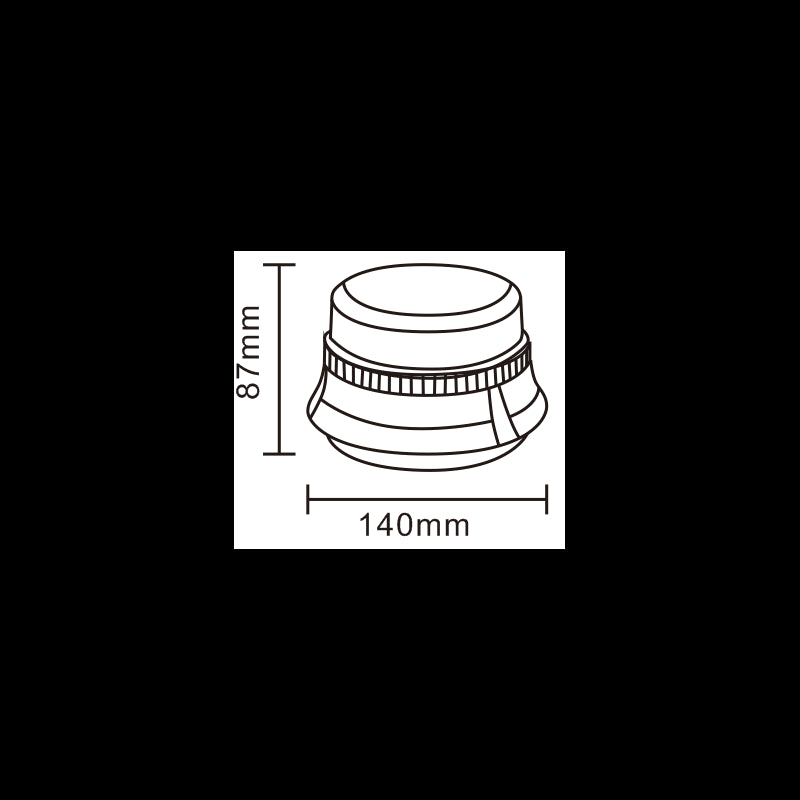 LED Low Profile Magnetic Beacon