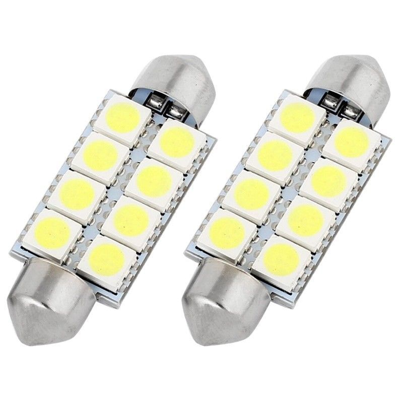 INTERIOR / NUMBER PLATE LED FESTOON 264, 41MM CANBUS BULB WHITE