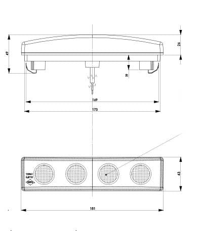 scania r series wiring diagrams: scania led visor lamp light u2013 truck  electricsrh:truckelectrics