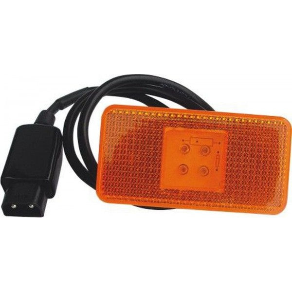 Scania / Volvo LED Side Marker Lamp with Plug & Cable