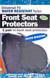 Heavy Duty Nylon Front Seat Covers
