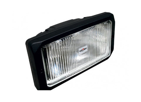 Rectangular Fog Lamp Clear Lens / SIM 3225