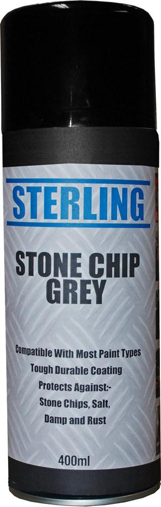 grey stone chip spray