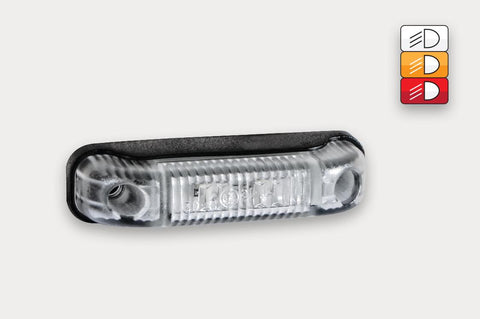 Surface Mount LED Marker Lamp, Available in White & Amber 12-24v