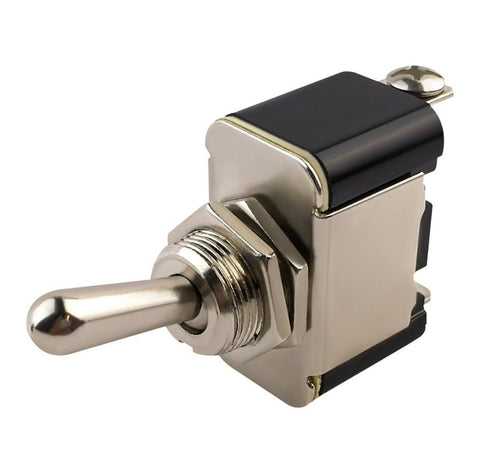Metal Toggle Switch Momentary On-Off-On