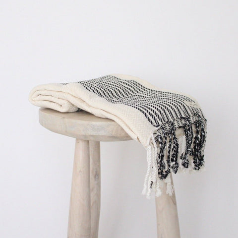 B&W Turkish Towel