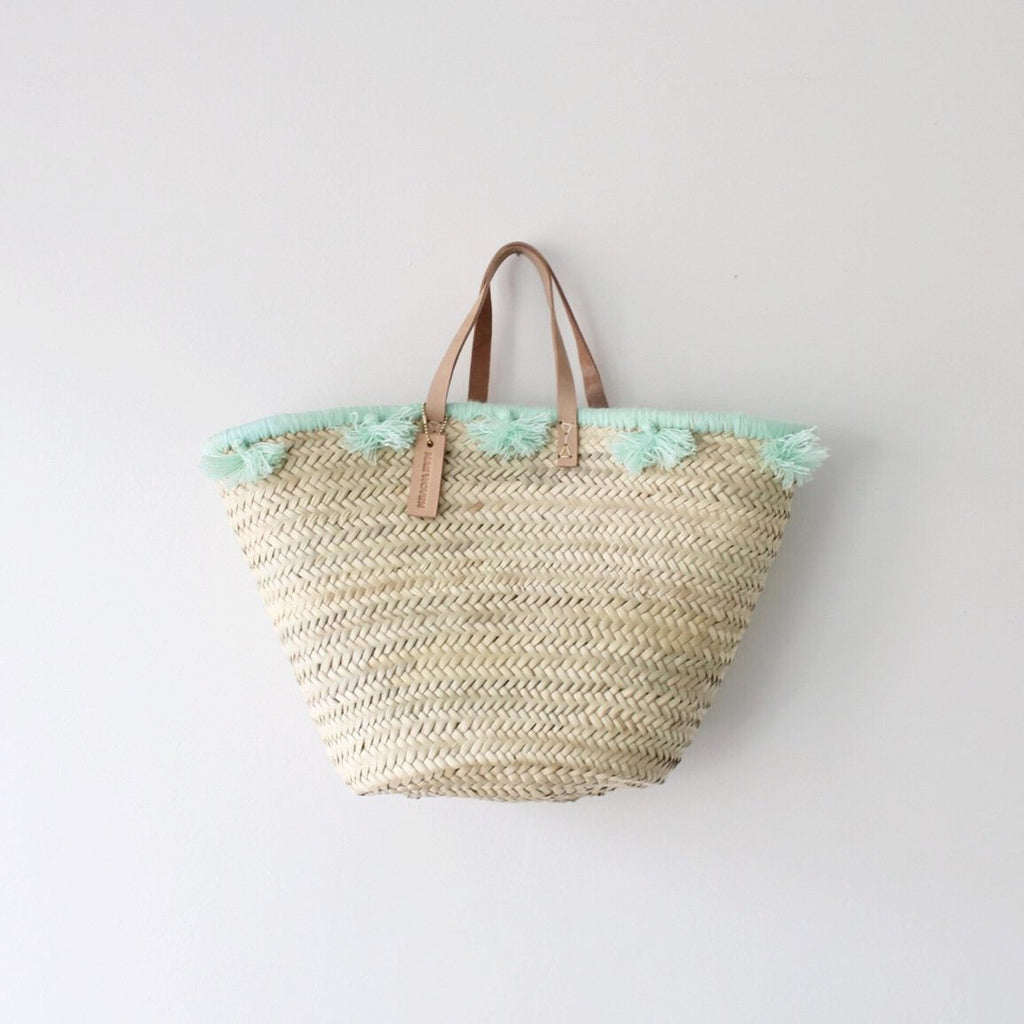 Sea Foam Tassel Bag