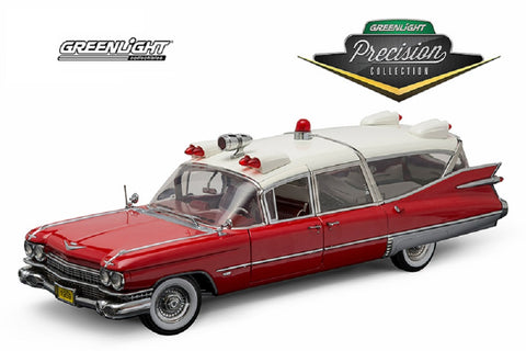 Cadillac AMBULANCE Diecast Hard Top 1959 1:18 Scale GREENLIGHT Limited Edition