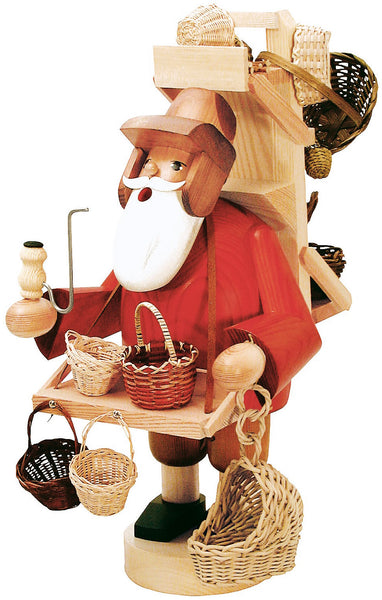 German Incense Smoker KWO BASKET Trader Handmade Wood