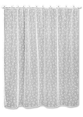 Heritage Lace SHOWER CURTAIN Starfish 72x72 White Made in USA
