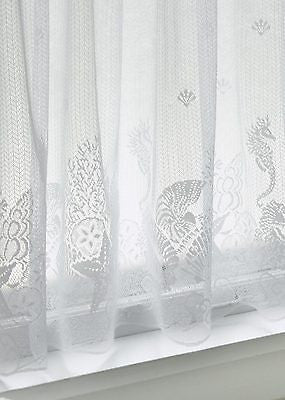 Heritage Lace SEASCAPE Tier 60x30 White Made in USA