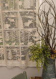 Heritage Lace LODGE HOLLOW Panel 60x63 NATURAL Made in USA
