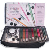 Knitters Pride Deluxe NEEDLE Set Interchangeable DREAMZ Set WOOD