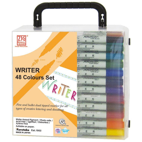 ZIG Markers Dual Tip Writer MEMORY System 48 pk