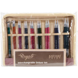 Knitting Needles Interchangeable Royale DELUXE Set Knitter's Pride