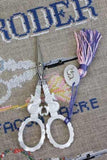 Embroidery SCISSORS Sajou S Motif Mother of Pearl 4-1/2""