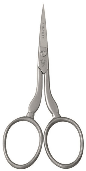 "Dovo Embroidery SCISSORS 4"" Stainless Steel w/ Sheath"