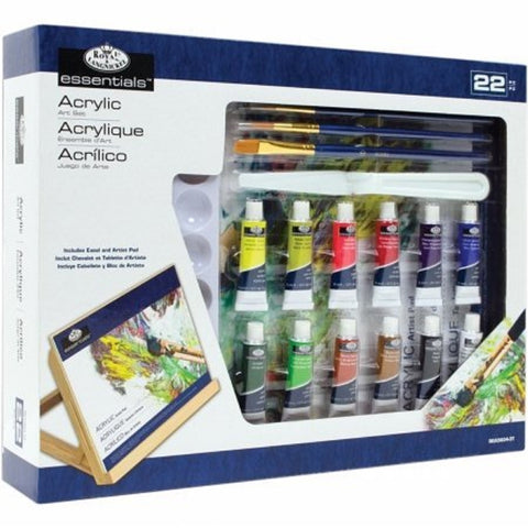 Royal & Langnickel Acrylic Art Set Medium 22 Pieces