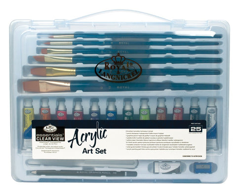 Royal & Langnickel Acrylic Art Set 25 Pieces