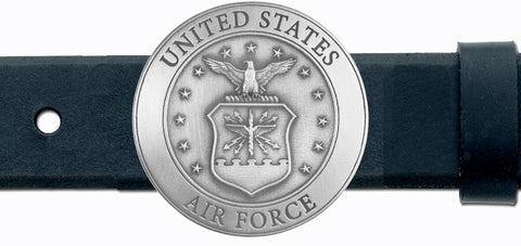 Air Force BELT Buckle Solid PEWTER w/Gift Box