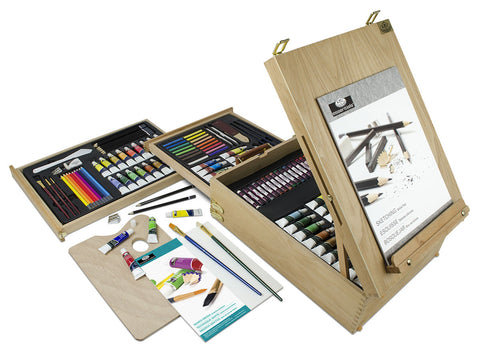 Royal & Langnickel ALL MEDIA Easel Artist Set 150 Pieces