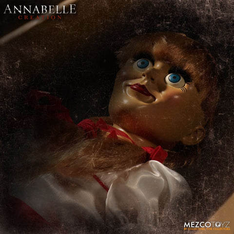 The Conjuring ANNABELLE Creation Doll Mezco Toys Scaled Prop Replica 18""
