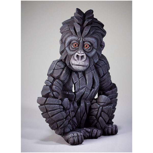 Baby Gorilla Figure Enesco Edge by Matt Buckley 9""