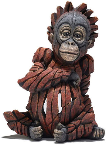 Baby Orangutan Figure Enesco Edge by Matt Buckley 8""