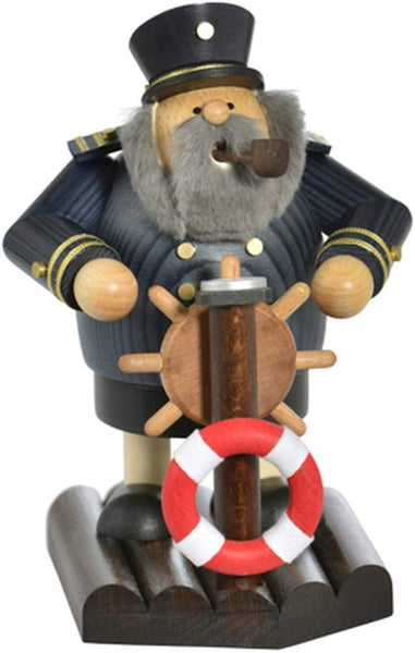 German Incense Smoker KWO Captain Handmade Wood