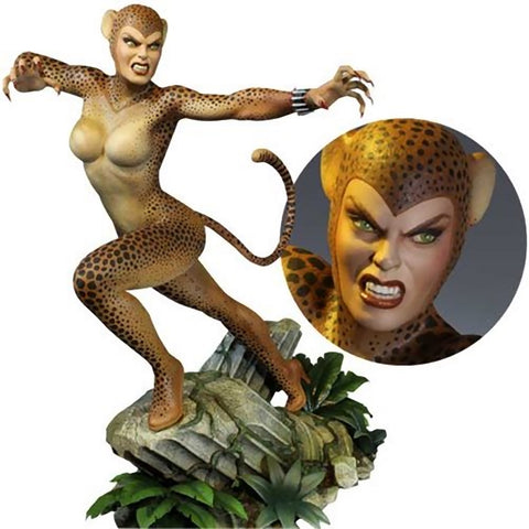 Cheetah Maquette Statue Tweeterhead DC Super Powers Limited Edition