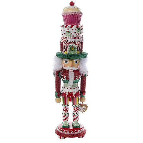 Hollywood Nutcracker CUPCAKE and SWEETS Christmas Kurt Adler 18""