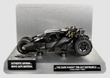 Batman Dark Knight Batmobile DIECAST Hot Wheels ELITE 1/18 Scale Movie Cape Mtrl